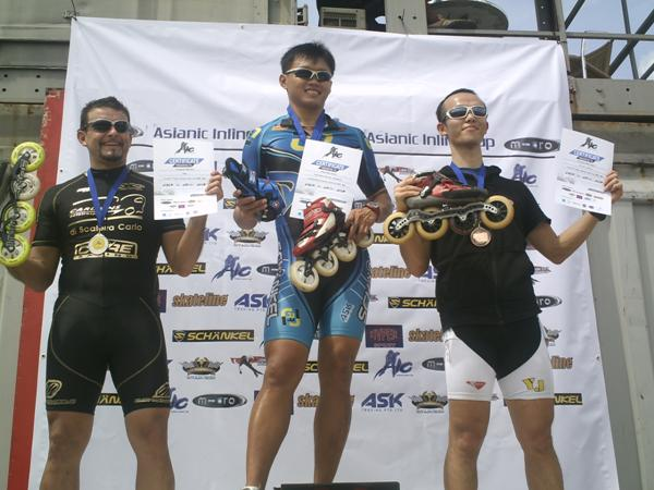 The First Asianic Inline Cup Winner
