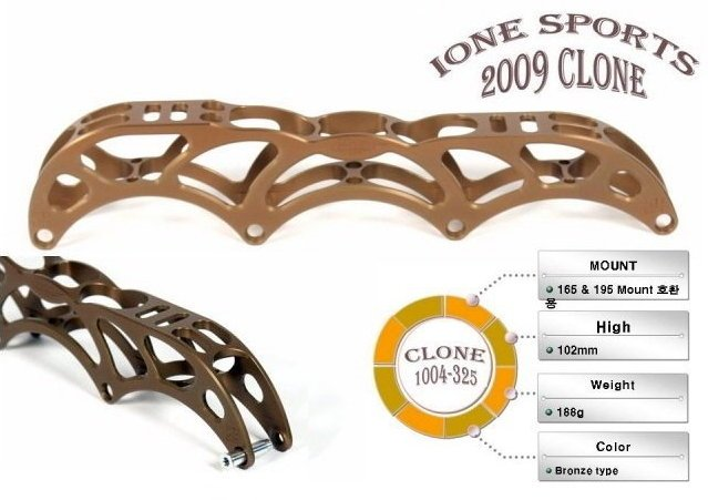 CLONE 1004-325 4X100mm for 165 & 195