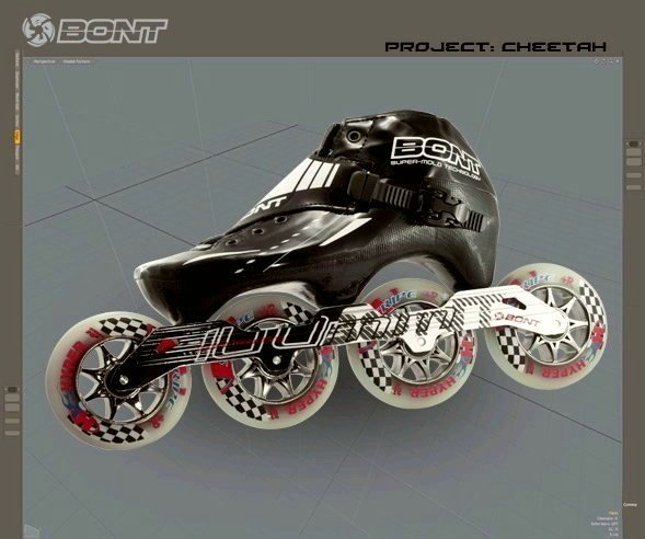 "BONT Entry Skates ""Cheetah"""