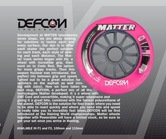 Matter DEFCON for the WC Haining