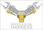 3-way Propulsion Harness
