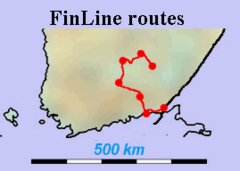 FinLine 2007 in FINLAND Lake District