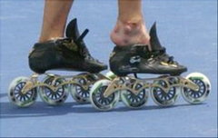 Speed Skater's Feet