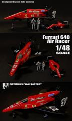 Ferrari 640 Air Racer FICTITIOUS PLANE FACTORY