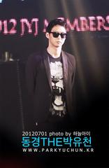 「2012 JYJ MEMBERSHIP WEEK」写真�Aユチョン 20120701