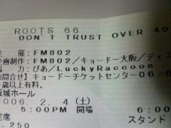 ROOTS66〜DON'T TRUST OVER 40@大阪城ホール