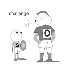 挑戦;challenge、tackle、try、それからpitch
