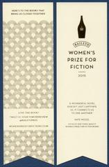 「women's prize for fiction」のしおり