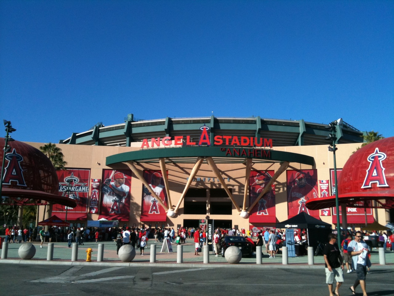 Angel Stadium of Anaheim('10 Anaheim)