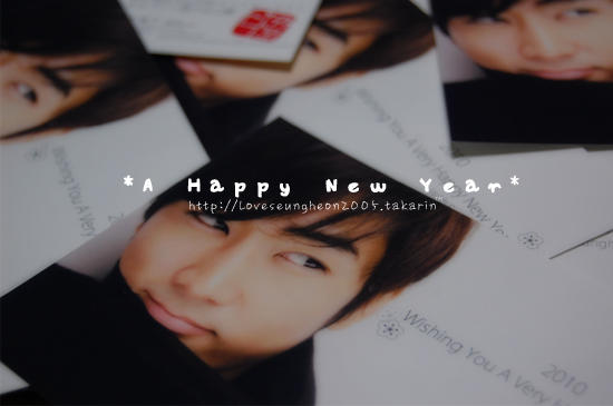 〜A Happy New Year 2010^^〜