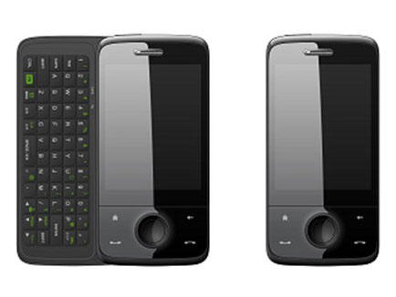 『HTC Touch Pro』と『W56T』比較