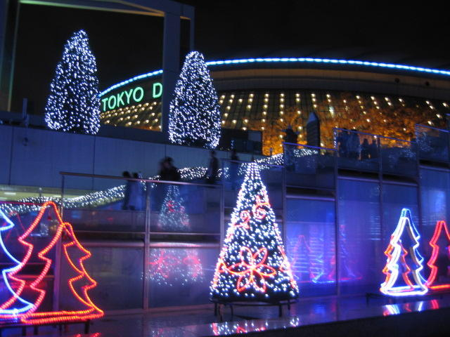 Christmas Illumination at Tokyo Dome city