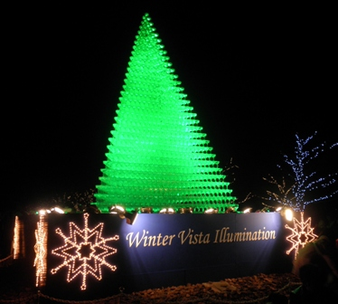 Winter Vista Illumination 2009