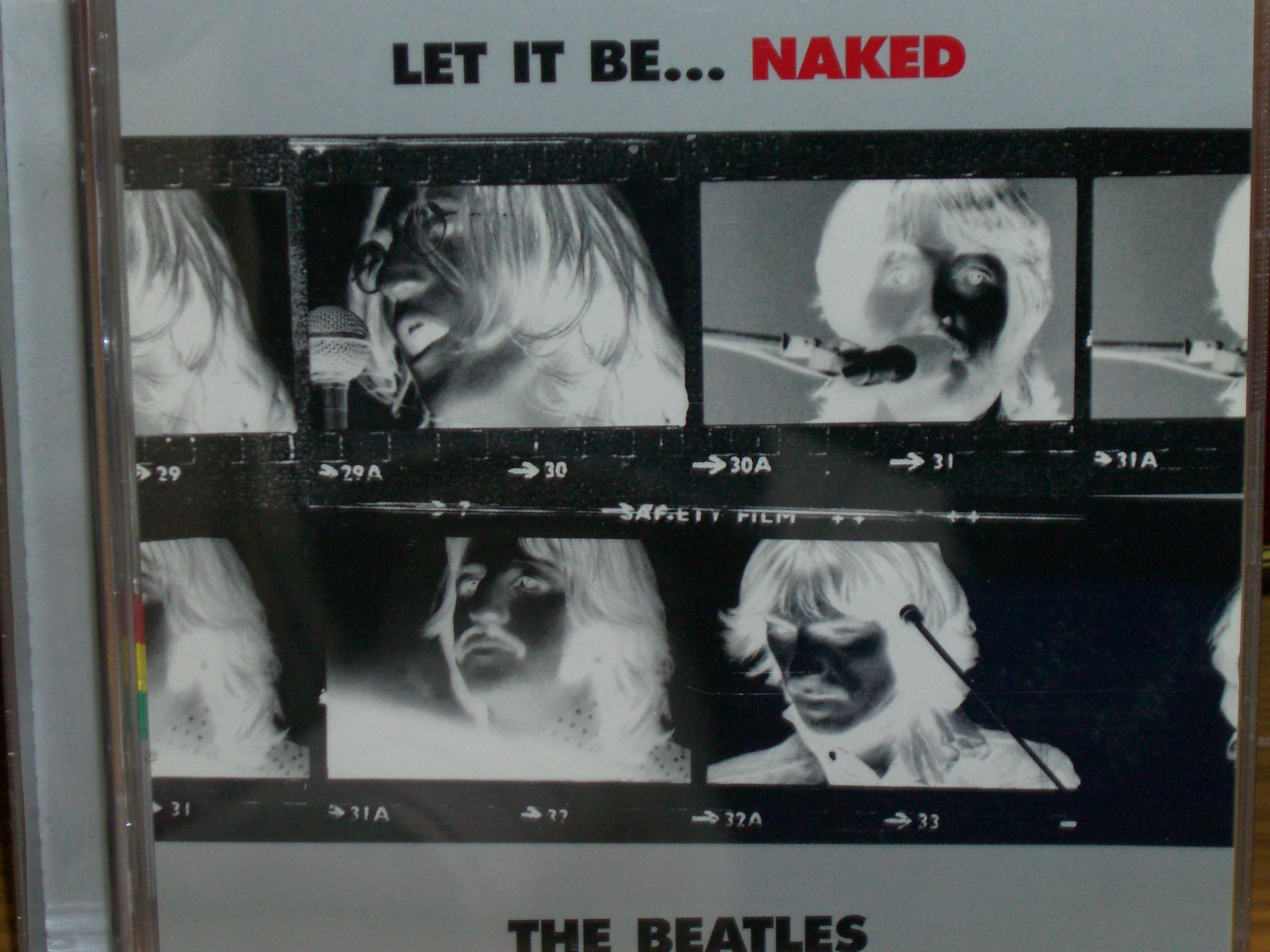 LET IT BE..... NAKED」 THE BEA...
