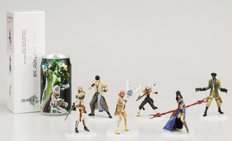 FINAL FANTASY XIII ELIXIR with TRADING ARTS MINI