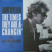 """TIMES THEY ARE A-CHANGIN' (RED VINYL 7""""EP)"""