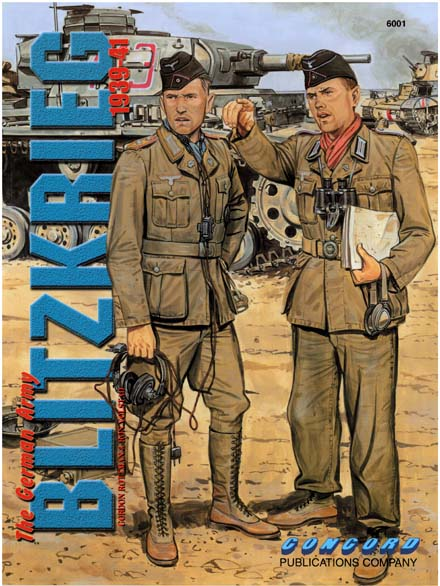"近刊洋書:CONCORD ""Blitzkrieg: The German Army 1939-41"""