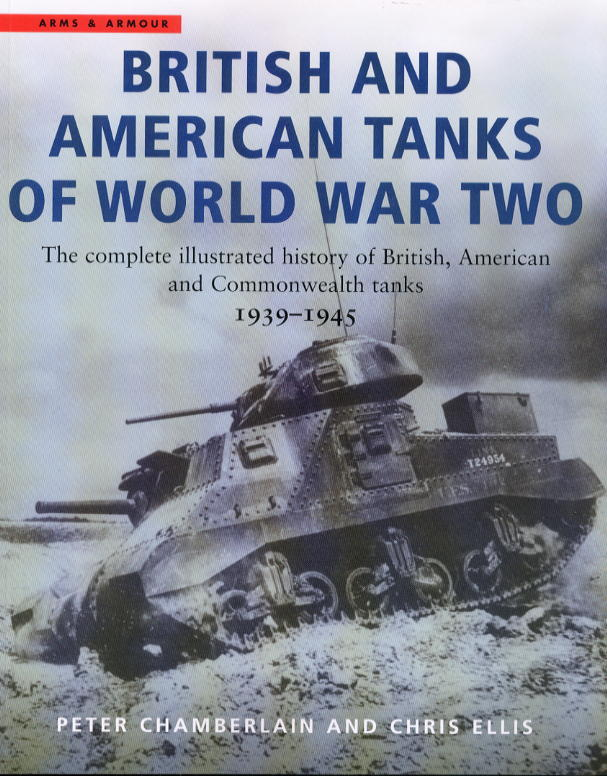 新着洋書:BRITISH AND AMERICAN TANKS OF WORLD WAR TWO