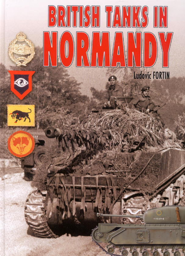 新着洋書:BRITISH TANKS IN NORMANDY