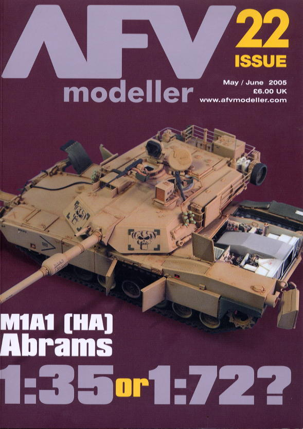 新着洋書:AFV modeller ISSUE 22