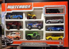matchbox 60th 10 pack