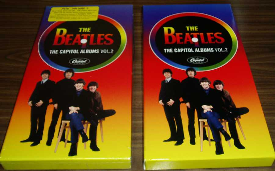 The Beatles 『The Capitol Albums Vol.2』 ホンMONOとニセMONO