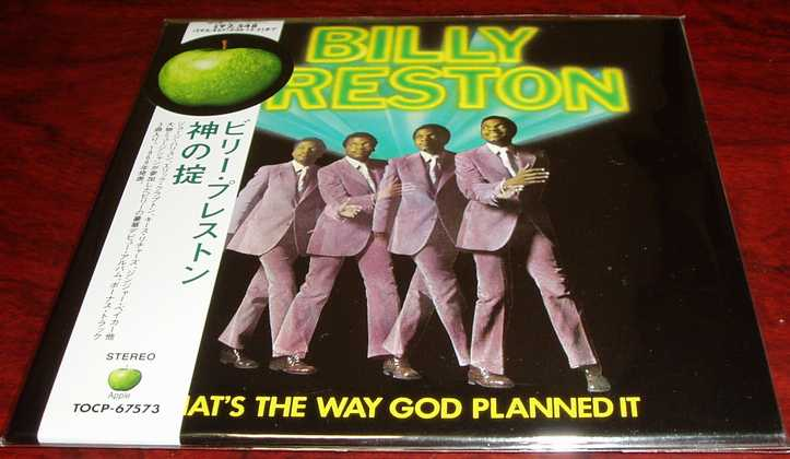 Billy Preston 『That's The Way God Planned It』