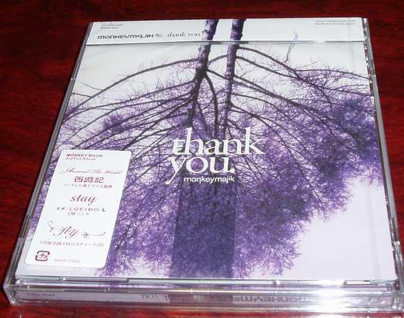 MONKEY MAJIK 『thank you』