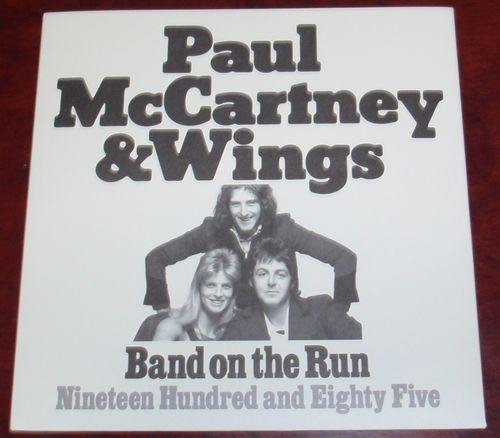 Paul McCartney & Wings 『Band On The Run』 Single Front