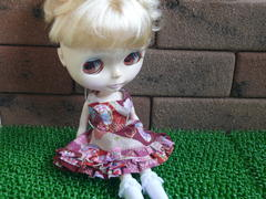Blythe  outfit  #09 和柄