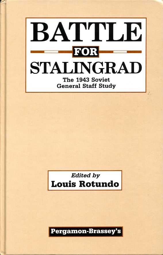 参考文献(22) Battle for Stalingrad-General Staff Study