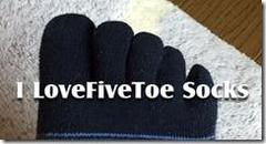 I LoveFiveToe Socks