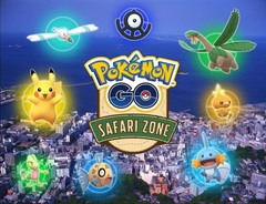 当たるかな?Pokemon GO Safari Zone in YOKOSUKA