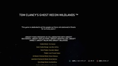 GHOST RECON WILDLANDSをクリアした!