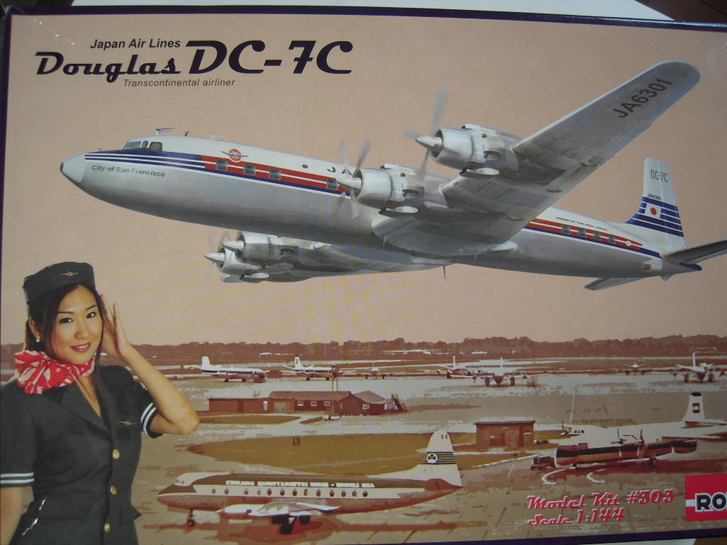 WINGS OF  THE NEW JAPAN (DC-7C)