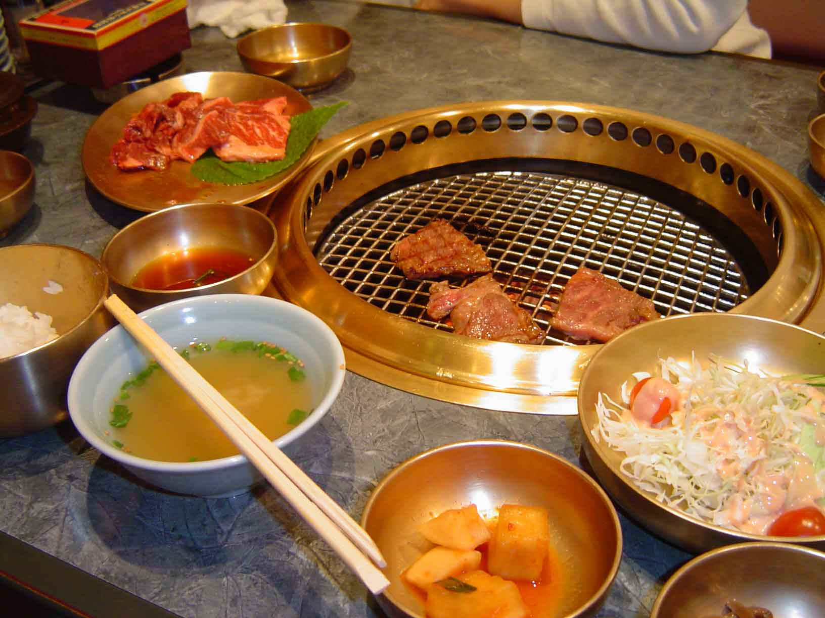 Nov.7,sun.WE LOVE KOREAN FOOD.