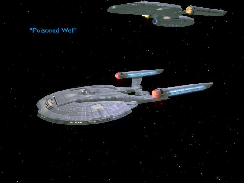 "STAR TREK: LEGACY ""Poisoned Well"" キャンペーン4"