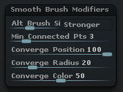 Smooth Brush Modifiers(・∀・)