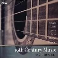 David Russell Plays 19th Century Music〜19世紀のギター音楽