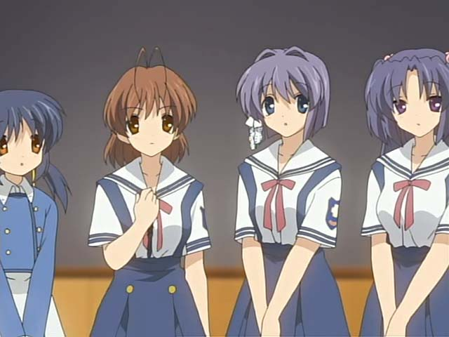 CLANNAD 第16話 3 on 3