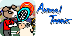 Androidテニスゲーム アニマルテニス - Android game Animal Tennis