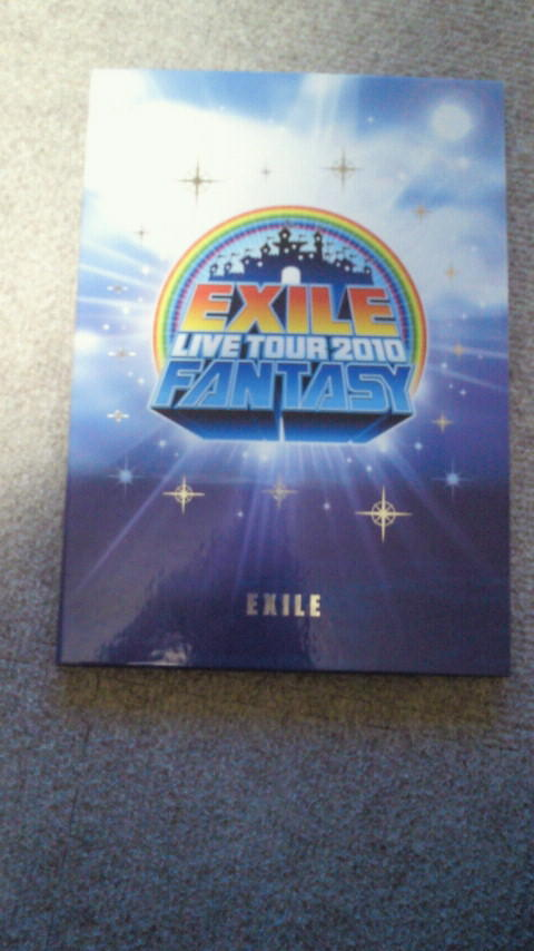 EXILE  LIVE  TOUR  2010 FANTASY プレミアムフレーム切手セット