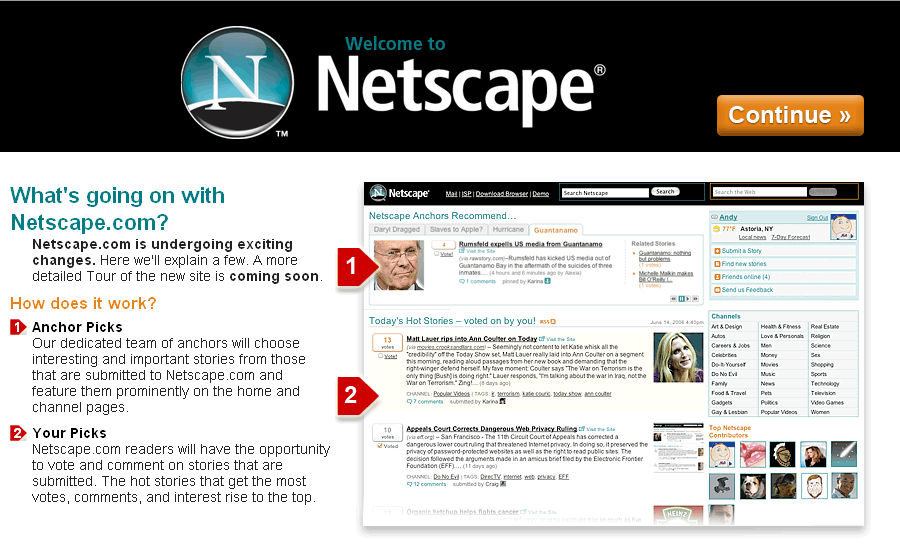 Netscape Is Dead