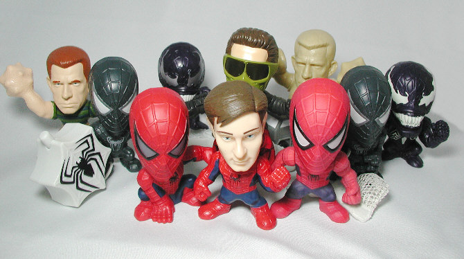 Burger King Spider-Man3 Toy