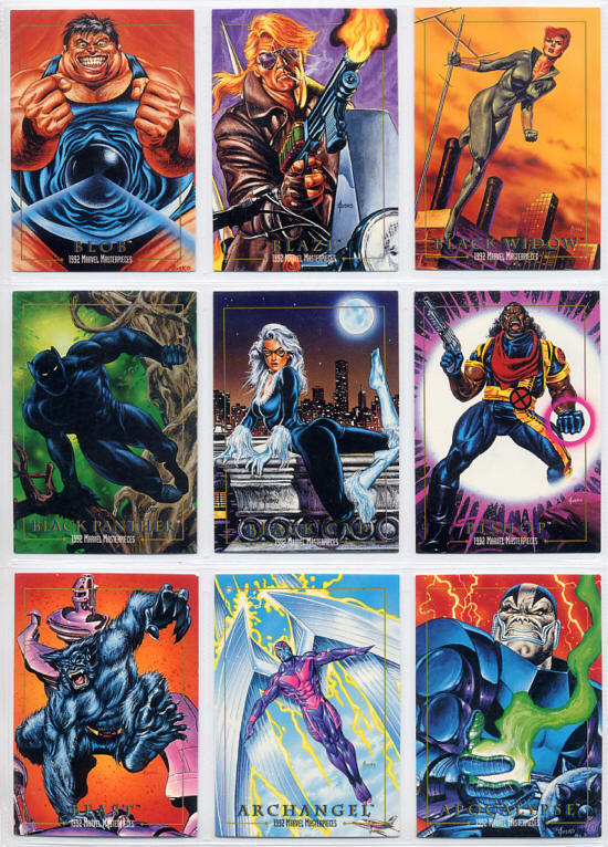 Marvel Masterpieces Series1 (Skybox社 1992年製)