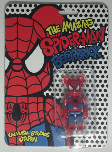 Spider-Man USJ Limited BE@RBRICK