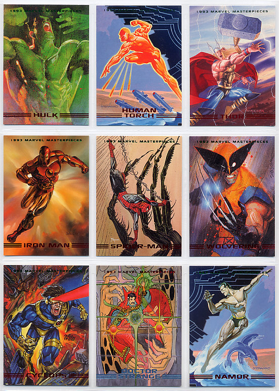 Marvel Masterpieces Series2 (Skybox社 1993年製)