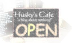 Husky's Cafe blog