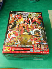 ONE PIECE FILM Z DVD GREATEST ARMORED EDITION開けました