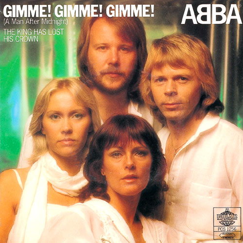 ABBA 『Gimme! Gimme! Gimme! (A Man After Midnight)』